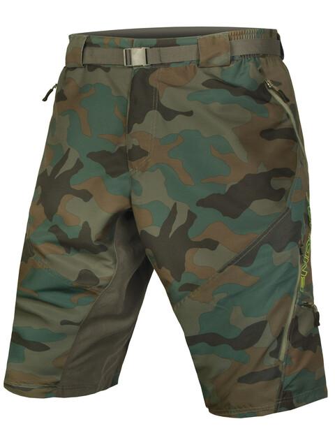 Endura Hummvee II pantaloncini da ciclismo Uomo marrone/verde oliva